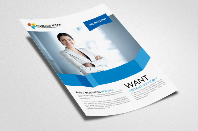 human-resource-management-flyer-template