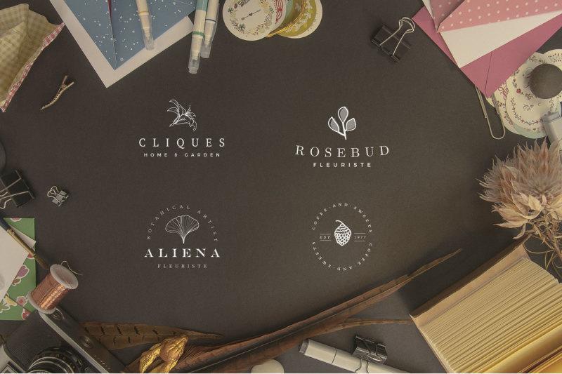 stylish-logos-template-blossom