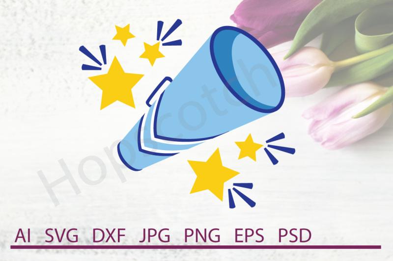 megaphone-svg-megaphone-dxf-cuttable-file