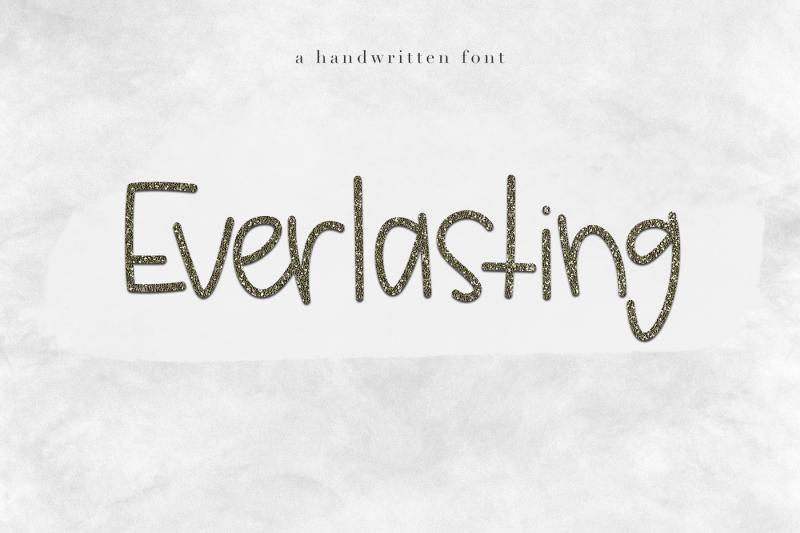 everlasting-a-handwritten-font