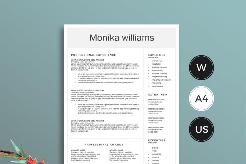 word-resume