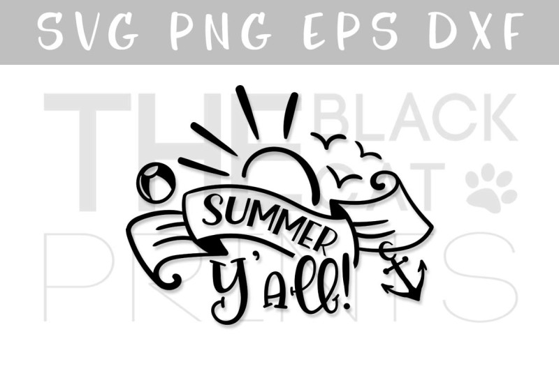 summer-yall-svg-dxf-pnf-eps