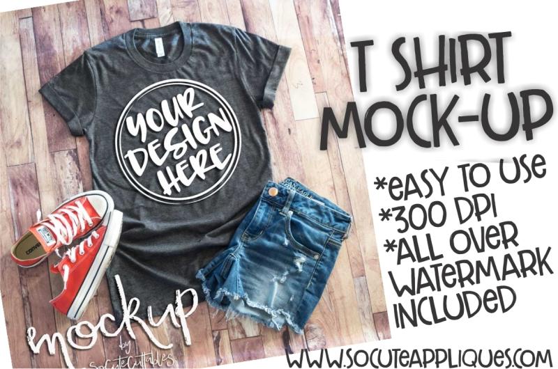 Download Gray t-shirt flat lay mock up 6461 Free Mockups