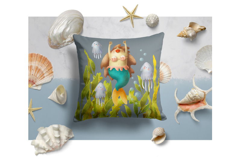 mermaid-clipart
