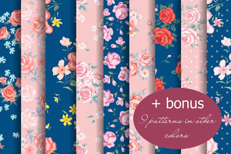 vintage-roses-patterns