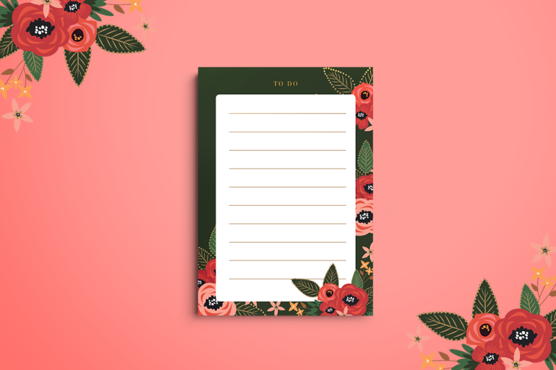 tropicalia-stationery-set