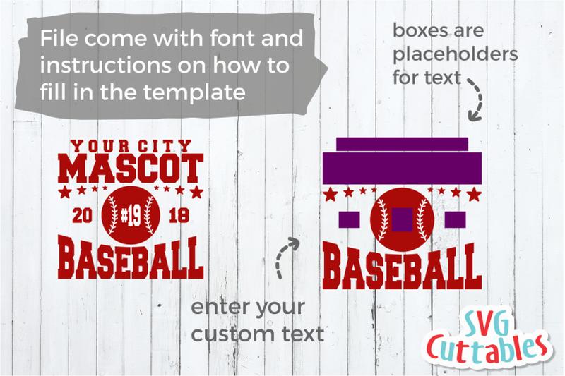 baseball-svg-template-003-svg-cut-file