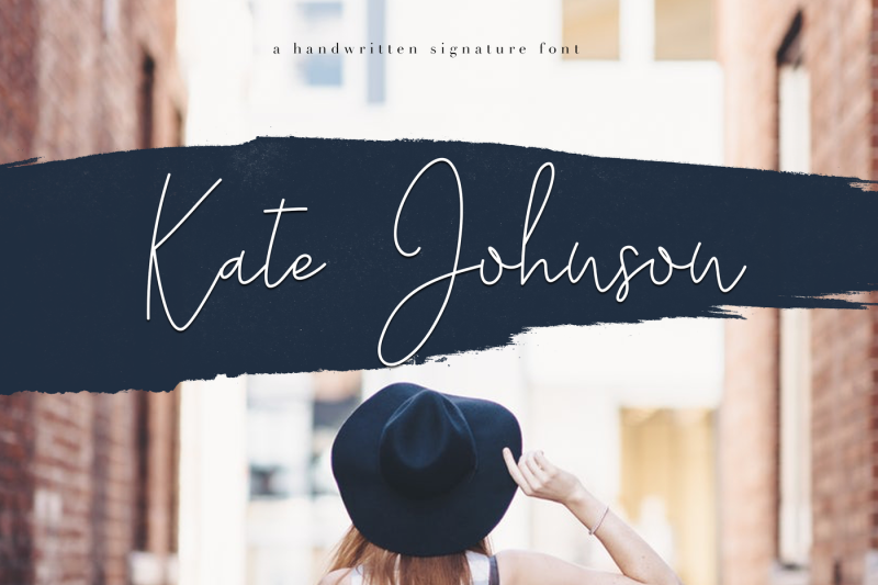 kate-johnson-handwritten-signature-font