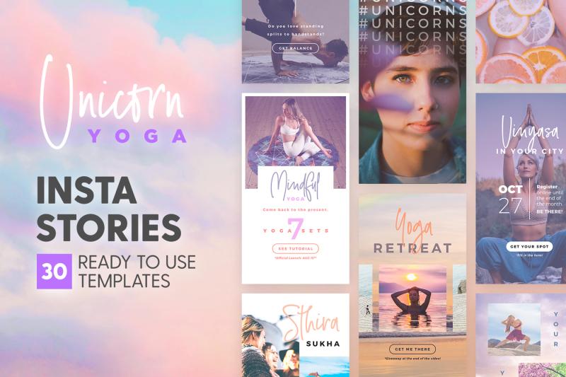 instagram-stories-unicorn-yoga-ed