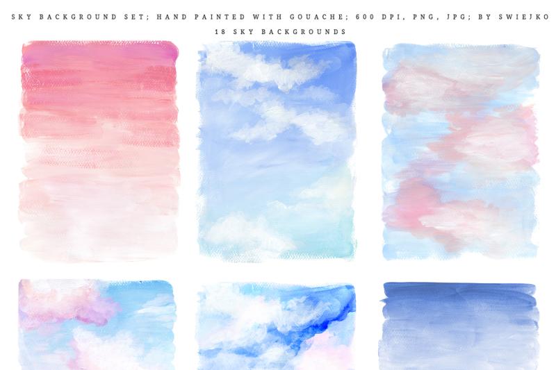 sky-background-illustration-set