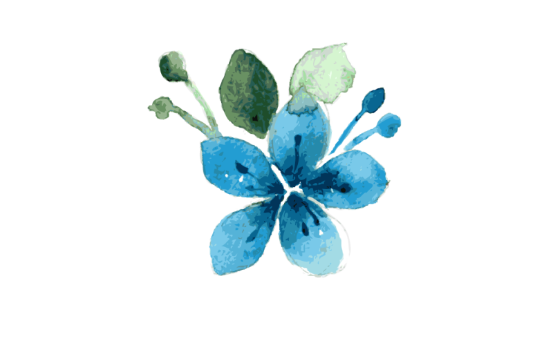 blue-flower-watercolor
