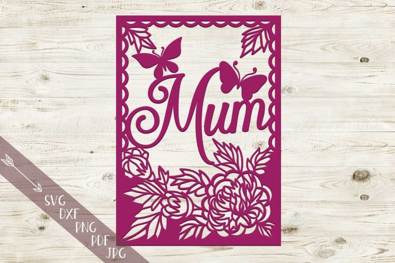 floral-mum-frame-papercut-svg-file-hand-paper-cutting-template-dxf