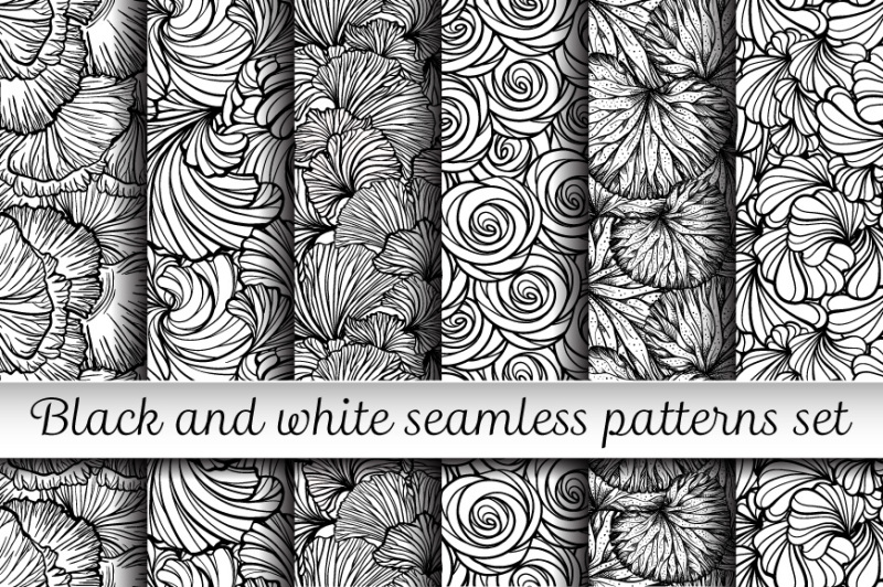 6-black-and-white-floral-patterns