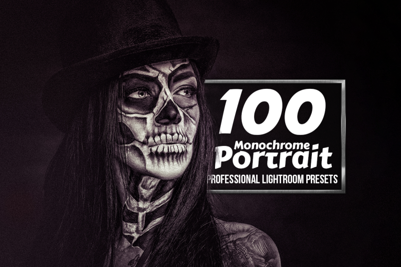 monochrome-portrait-100-lightroom-presets