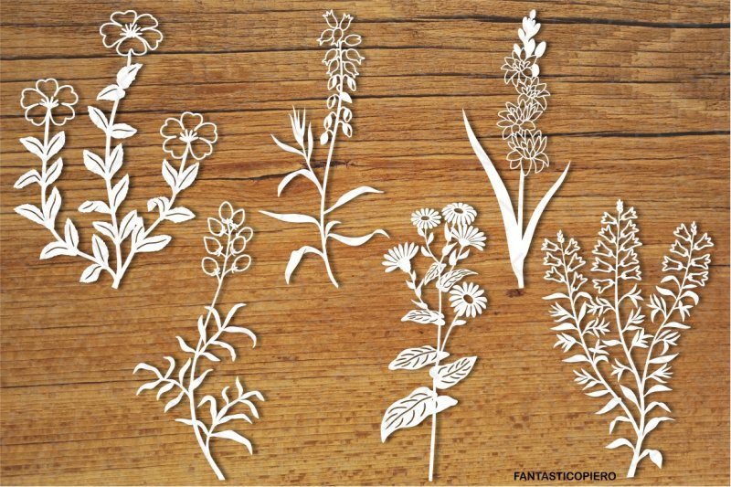 wildflowers-set-4-svg-files-for-silhouette-cameo-and-cricut