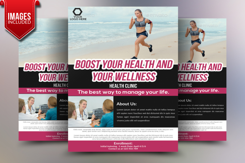 health-fitness-flyer-template