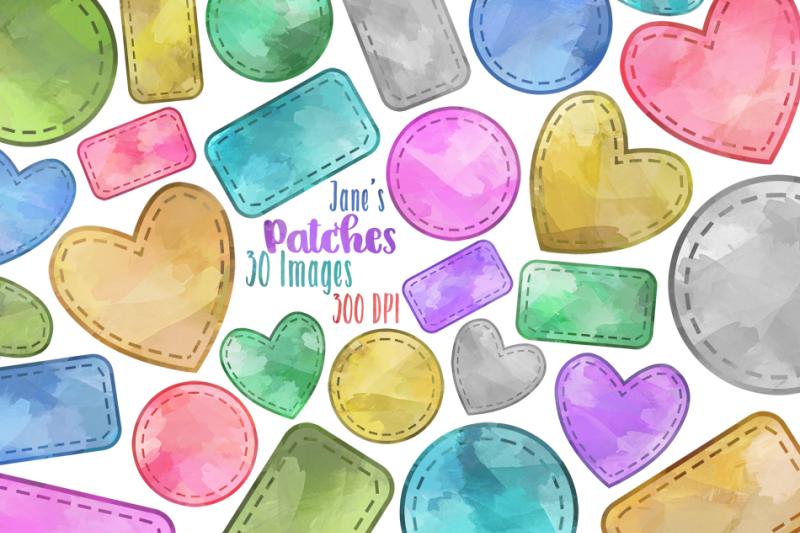watercolor-shape-patches-clipart