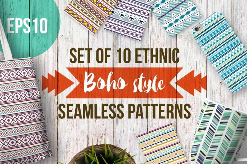 boho-seamless-patterns
