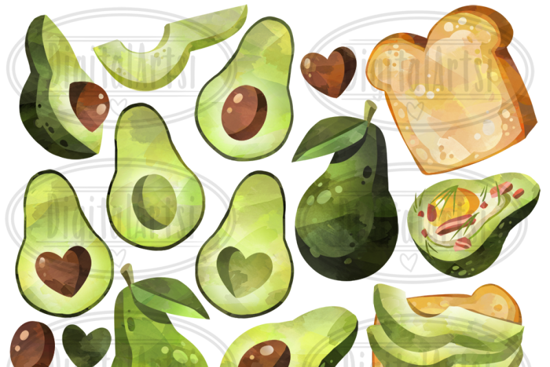 watercolor-avocados-clipart