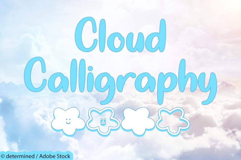 cloud-calligraphy