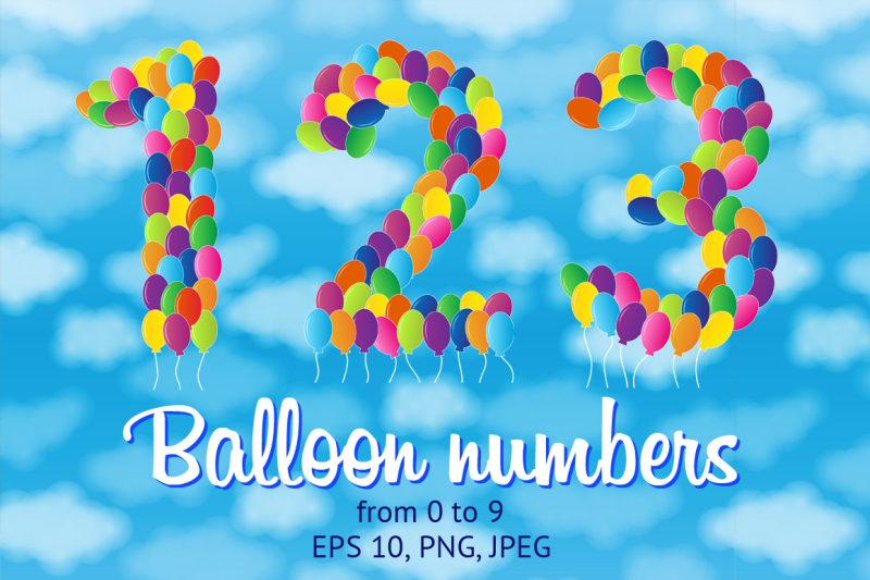 balloon-numbers