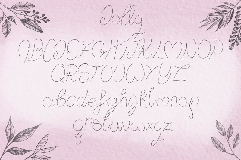 dolly-font-duo