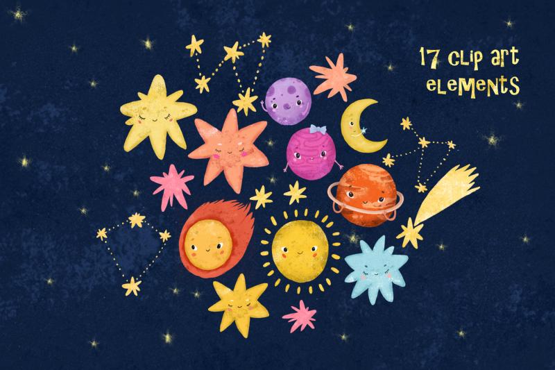 space-clip-art-solar-sistem-kid