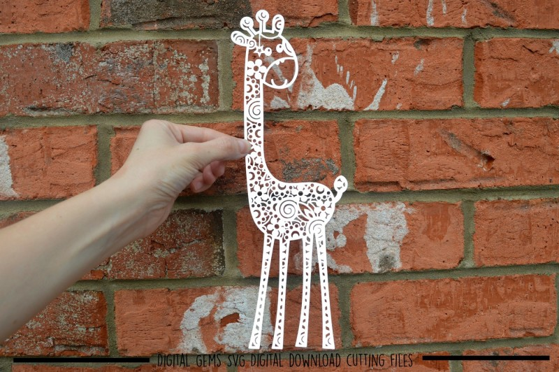 giraffe-paper-cut-svg-dxf-eps-files