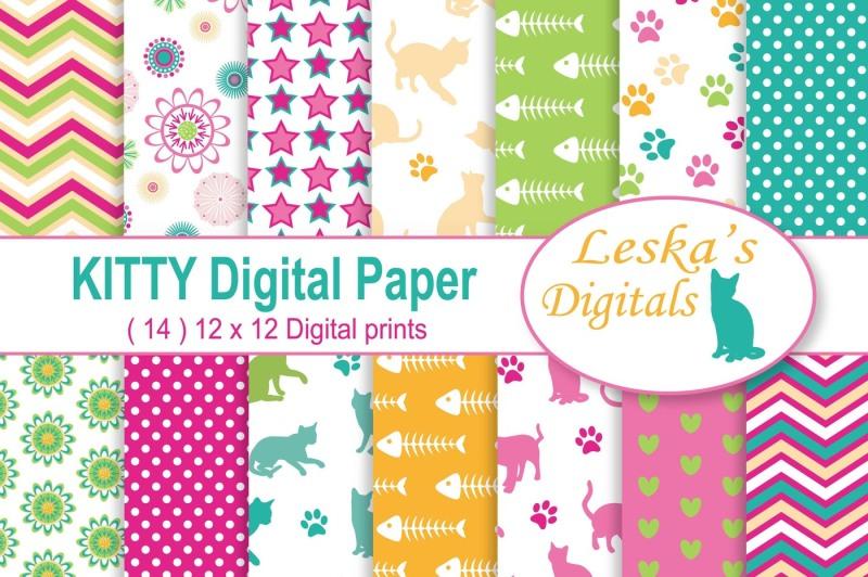 kitty-cat-digital-scrapbook-paper