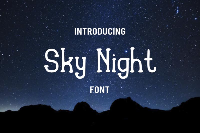 sky-night