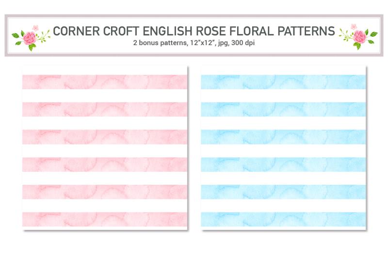 watercolor-english-rose-patterns
