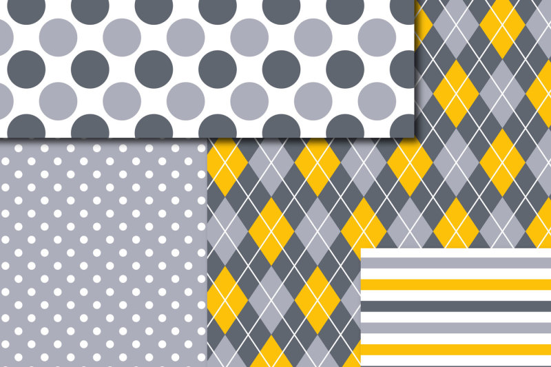 yellow-and-gray-digital-scrapbooking-paper-mi-849