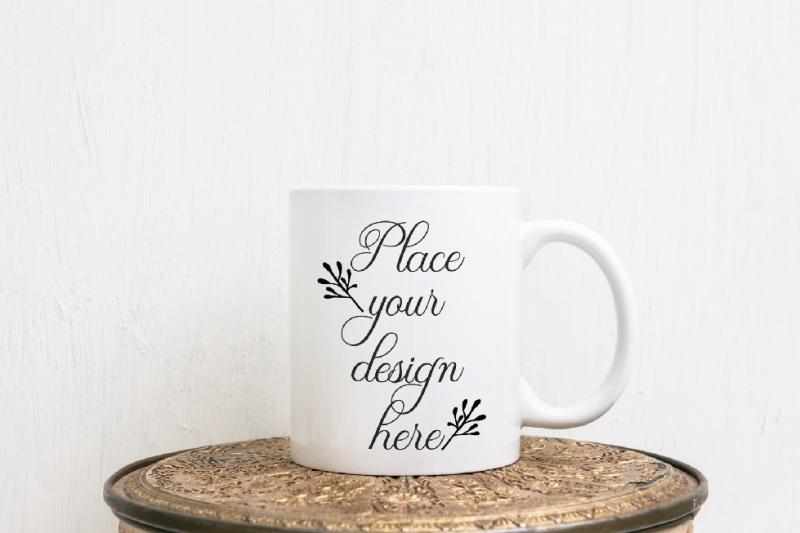 Free Cup mockup coffee mug mock up white 11oz mug mock ups template (PSD Mockups)