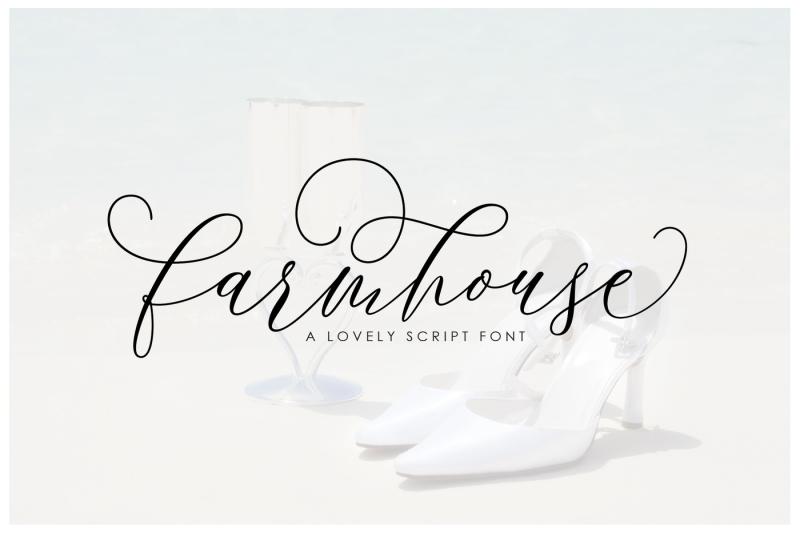 farmhouse-script