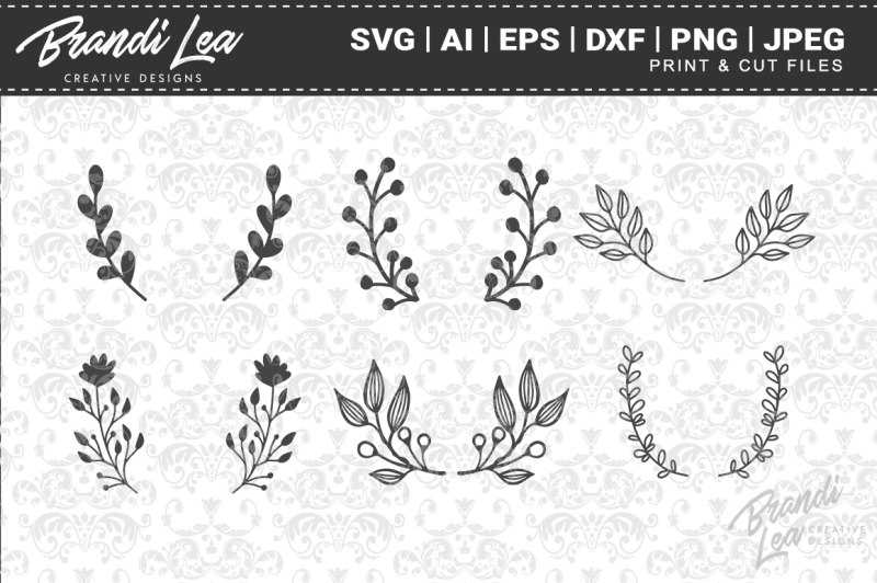 hand-drawn-laurels-svg-cut-files