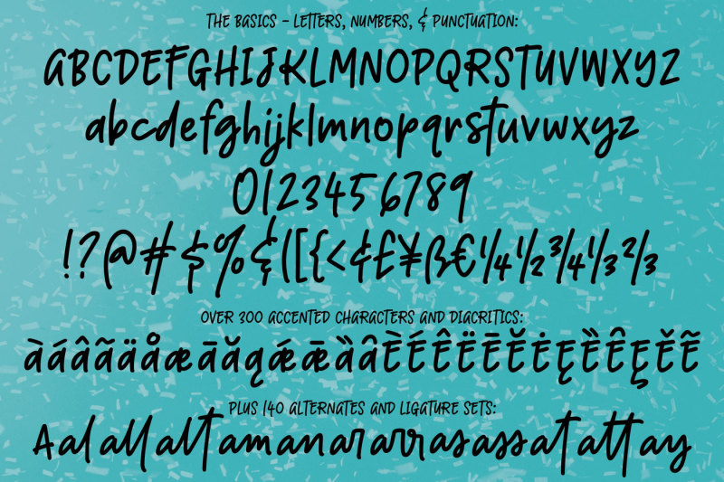 boisterous-a-casual-handwriting-font