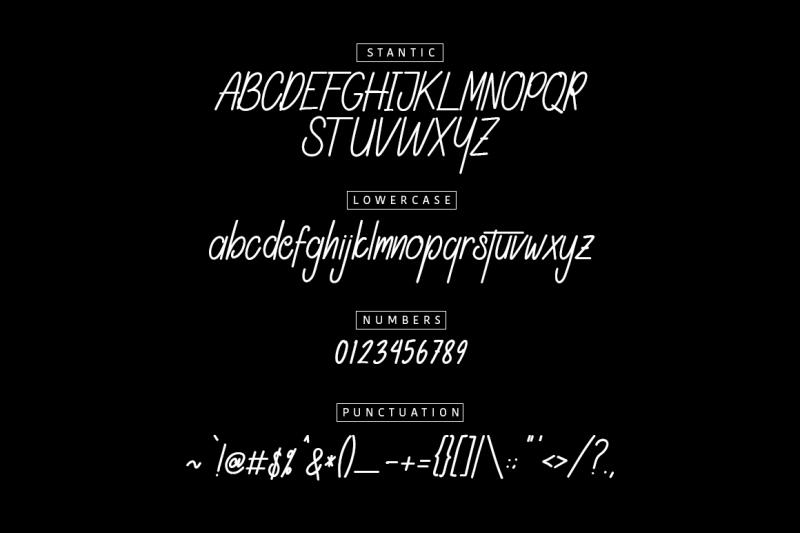 stantic-typeface