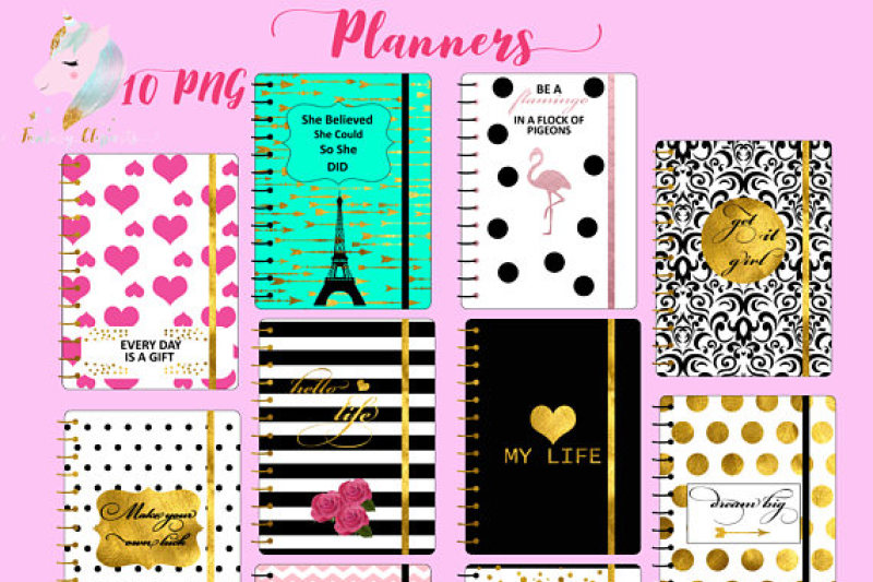 planners-clipart