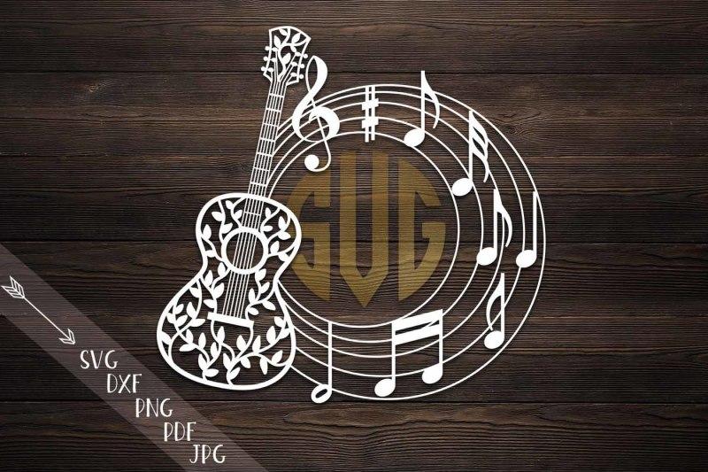 guitar-circle-monogram-svg-file-music-musical-notes-floral-guitar