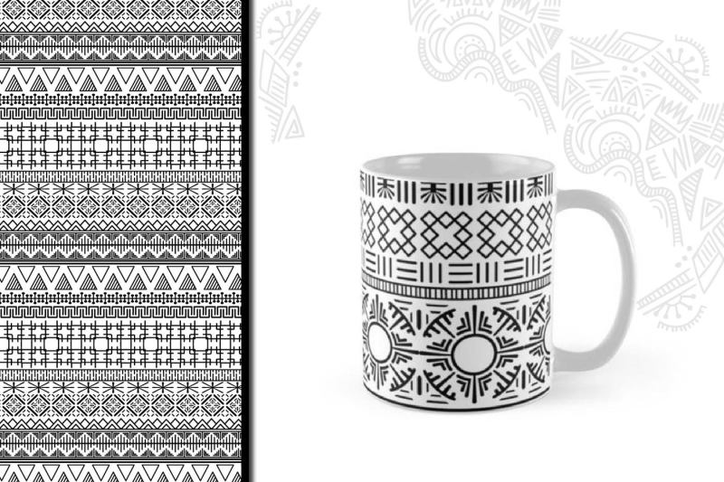 8-black-and-white-ethnic-seamless
