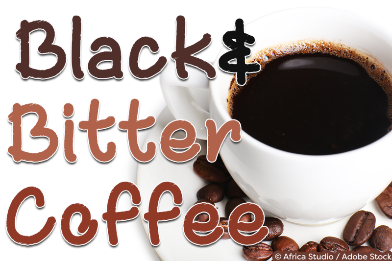 black-and-bitter-coffee