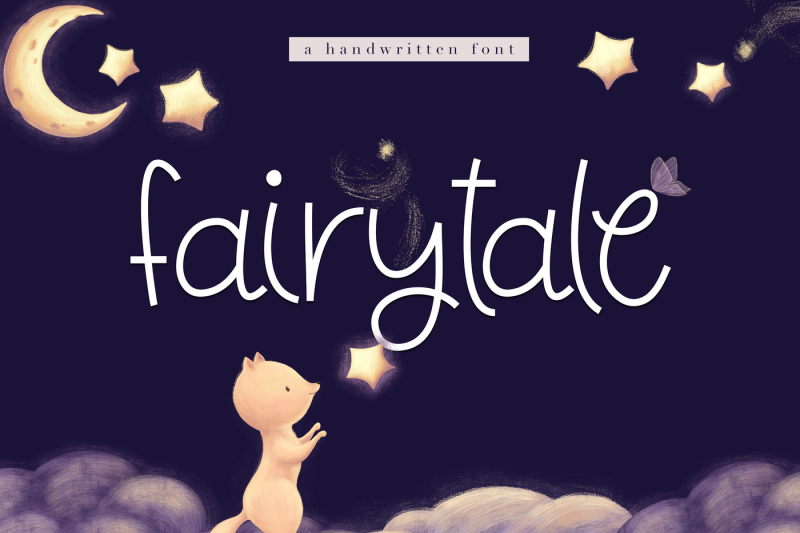 fairytale-a-cute-handwritten-font