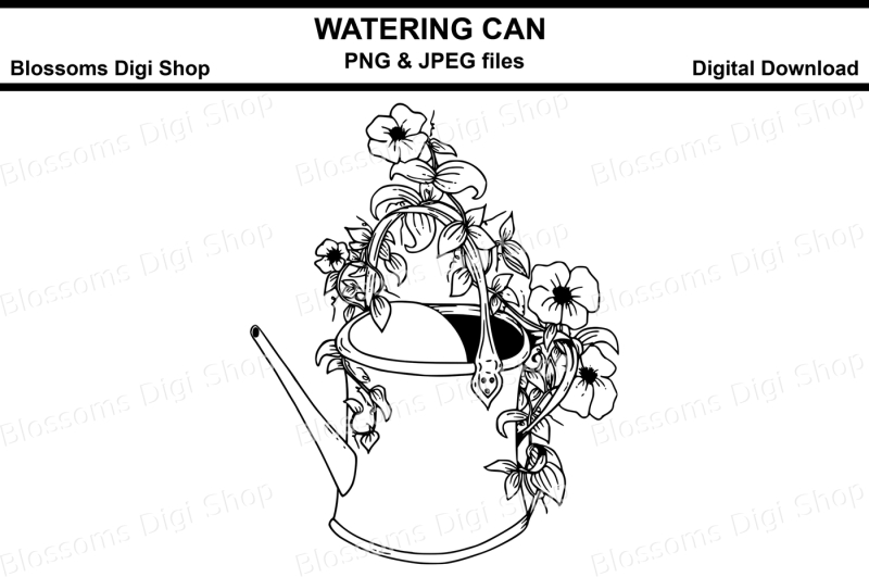watering-can-digital-stamp