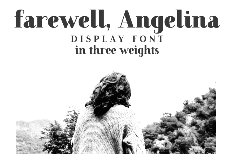 farewell-angelina-display-font