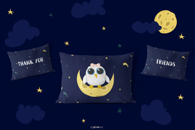 midnight-owls-vector-set-for-kids