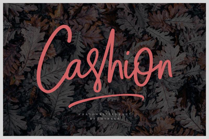 cashion-script