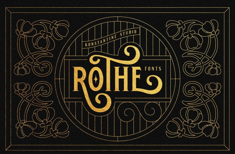 rothe-vintage-luxury-font