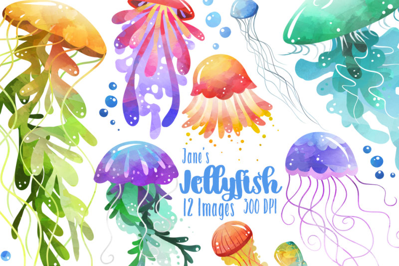 watercolor-jellyfish-clipart
