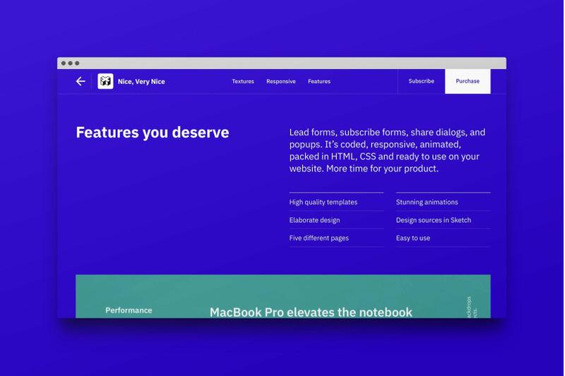 marketplace-website-template