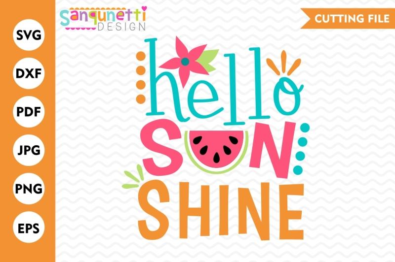 hello-sunshine-svg-summer-svg-watermelon-svg-sunshine-svg